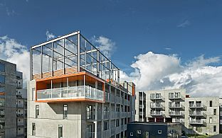 Architecture Award for innovative youth housing - C.F. Møller. Photo: Jørgen True