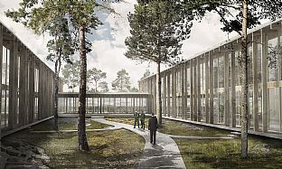 C.F. MØLLER WINS DEFENCE BUILDING CONTRACT ON GOTLAND - C.F. Møller. Photo: C.F. Møller