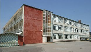 Competition for the restoration of legendary school - C.F. Møller. Photo: Andreas Trier Mørch, arkitekturibilleder.dk