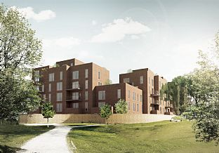 New homes in one of Odense's best locations - C.F. Møller. Photo: C.F. Møller
