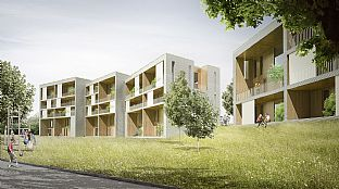 Quality affordable housing in NYE - C.F. Møller. Photo: C.F. Møller