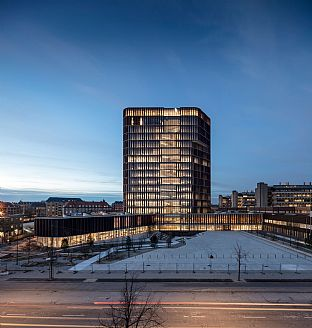 The opening of Maersk Tower marks a new era in Danish health and medical research - C.F. Møller. Photo: Adam Mørk