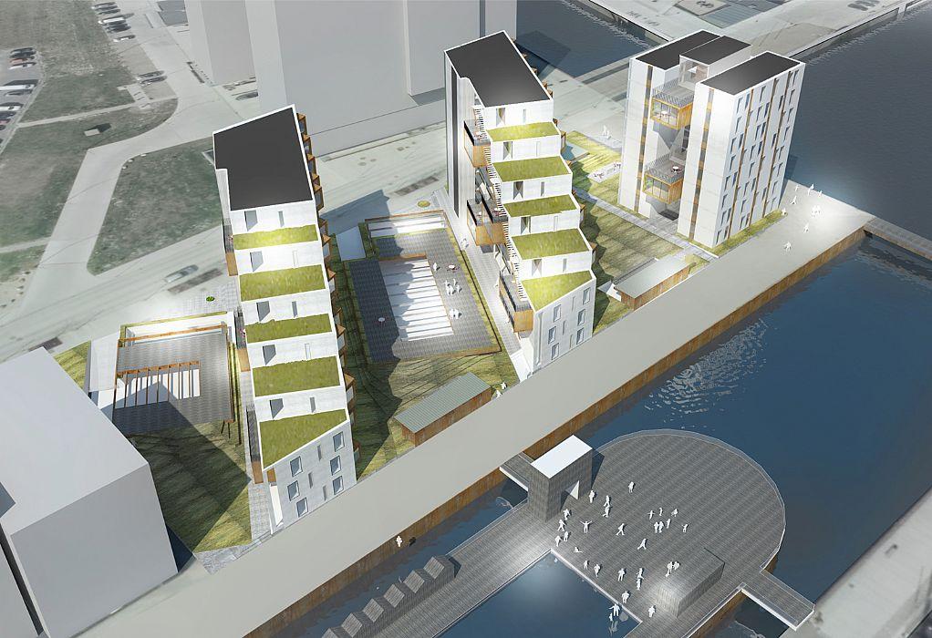 Ungdomsboliger på Odense Havn - C.F. Møller