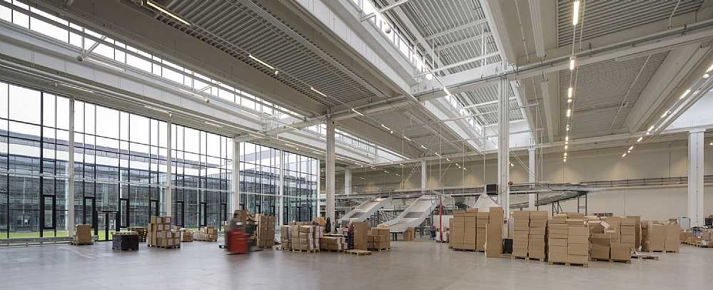 Bestseller Logistics Centre North  C.F. Møller. Photo: Adam Mørk