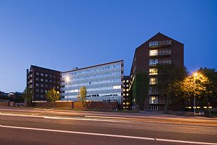 Danish Neuroscience Research Centre. C.F. Møller. Photo: Julian Weyer