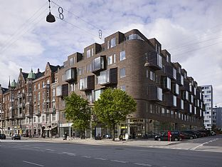 Housing, Østerbrogade 105. C.F. Møller. Photo: Torben Eskerod