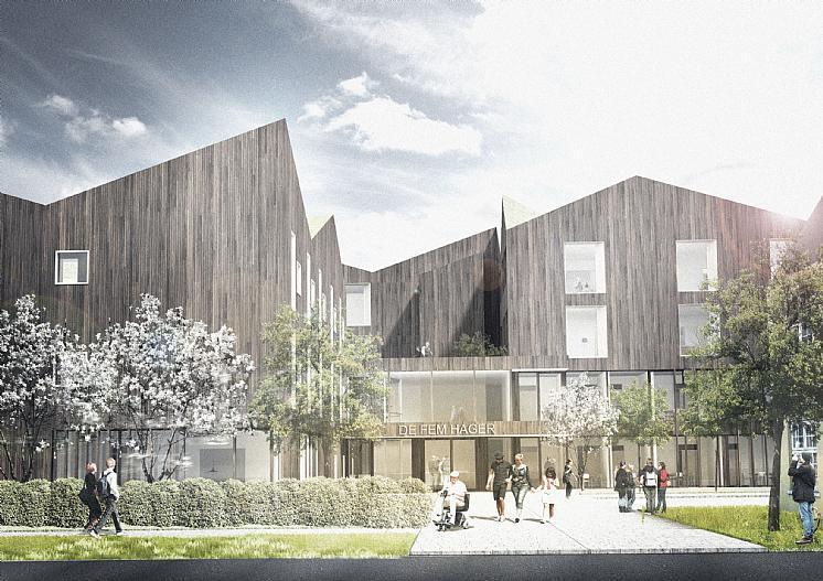 Nye frogner sykehjem prosjekter c f m ller Nursing home architecture