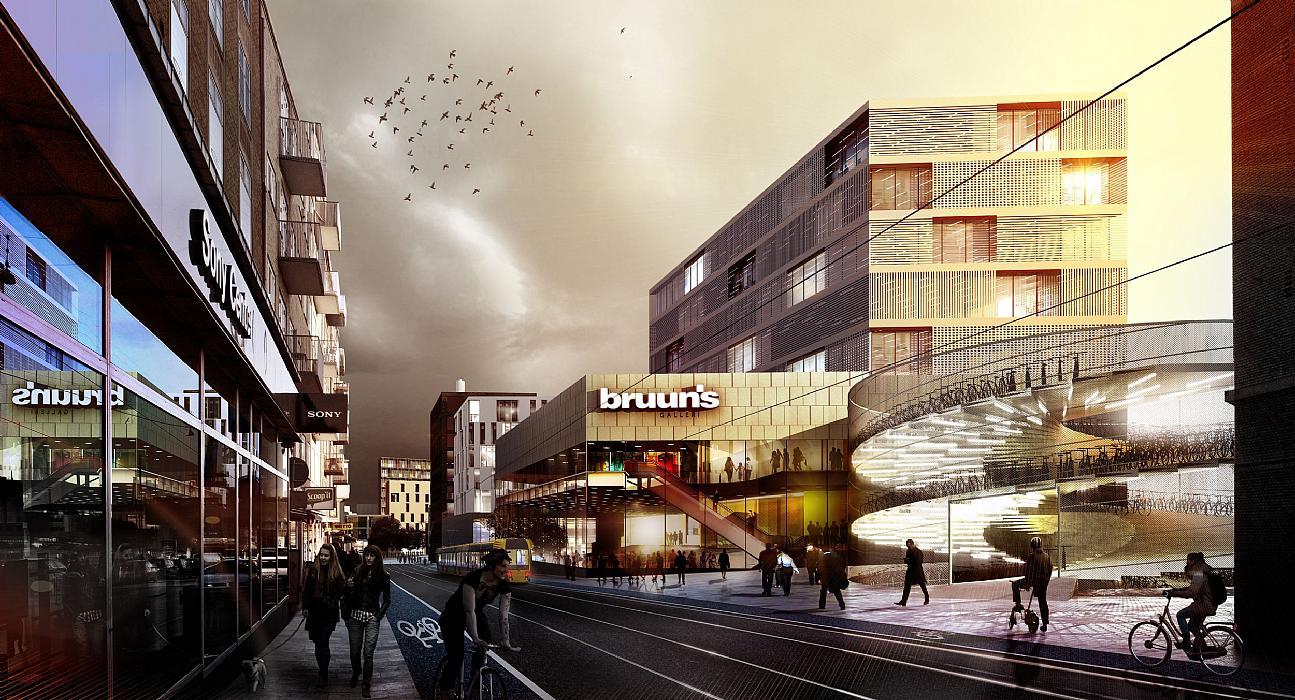 Dsb arealerne og rutebilstationsomr det i aarhus for Dsb landscape architects
