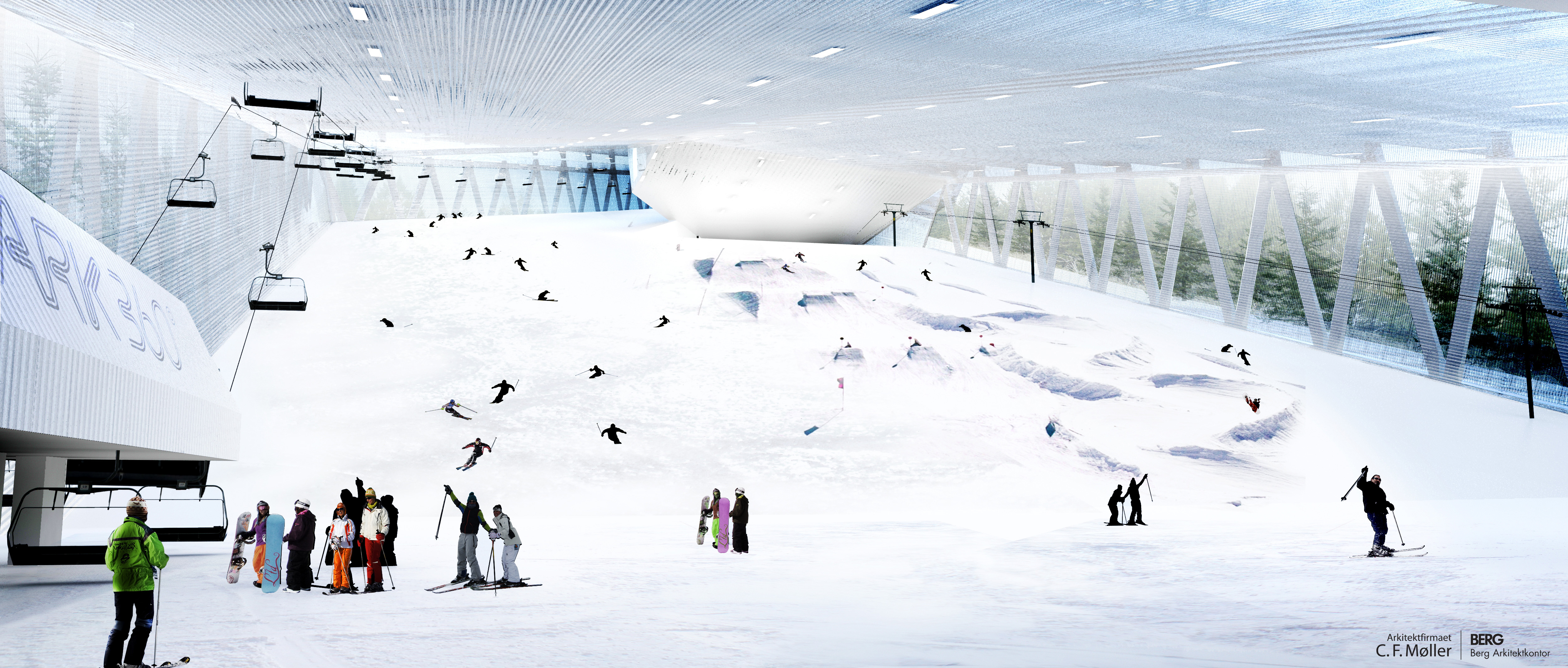 The world s most complete indoor ski park press c f