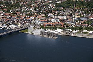 45 new homes on the waterfront in Aalborg - C.F. Møller