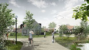 Awarded Best Conceptual Design - C.F. Møller. Photo: C.F. Møller Architects