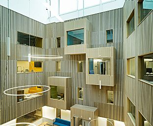 Awarded for best healthcare development - C.F. Møller. Photo: Jørgen True