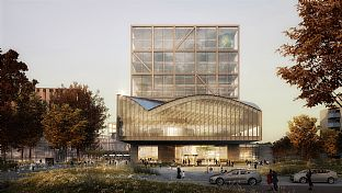 C.F. Møller Architects / Elding Oscarson Wins Competition for New Central Station in Lund, Sweden - C.F. Møller. Photo: C.F. Møller Architects/Elding Oscarson
