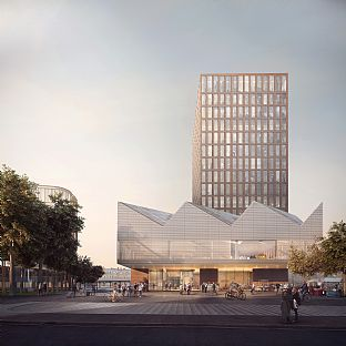 C.F. Møller Architects in a competition for Lunds Central Station - C.F. Møller