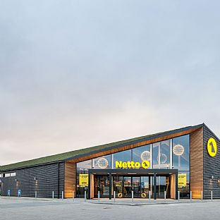 C.F. Møller Architects is behind Denmark's first certified sustainable convenience store - C.F. Møller. Photo: Julian Weyer
