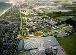 C.F. Møller Architects' proposal regarding Business Connection Trelleborg is based on a circular economy - C.F. Møller