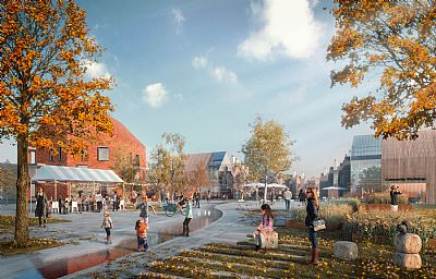 C F  Møller Architects unveil proposal for re-imagining the