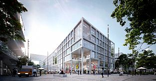 C.F. Møller Architects vann internationell tävling i historisk stadsdel i München, Tyskland - C.F. Møller. Photo: C.F. Møller Architects