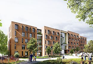 C.F. Møller Architects wins competition for a new hall of residence - C.F. Møller. Photo: C.F. Møller Architects