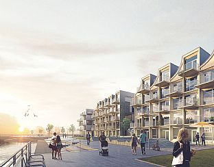 C.F. Møller Architects wins competition for new timber-built housing in Lund - C.F. Møller