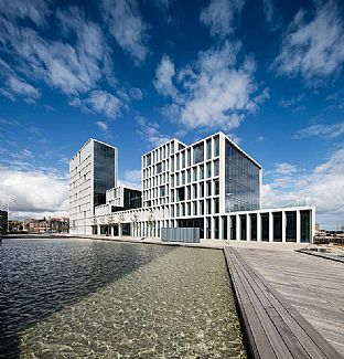 C.F. Møller building wins award - C.F. Møller. Photo: Adam Mørk