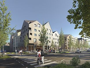 C.F. Møller designed project wins at National Housing Awards - C.F. Møller. Photo: C.F. Møller