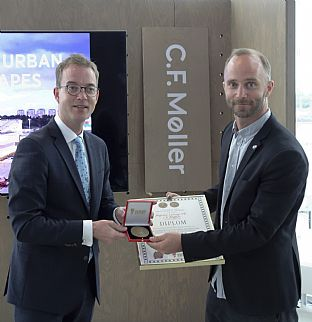 C.F. Møller receives a royal award for fine results in Sweden - C.F. Møller. Photo: C.F. Møller