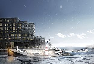 C.F. Møller wins unique water and activity project - C.F. Møller. Photo: C.F. Møller Landscape