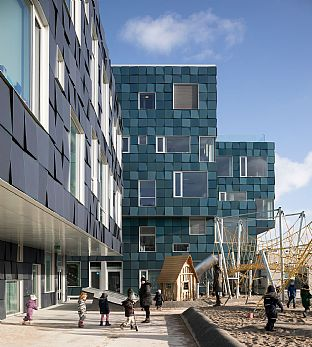 Copenhagen International School wins Green Good Design Award - C.F. Møller. Photo: Adam Mørk