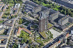 Copenhagen awards a prize to Maersk Tower - C.F. Møller. Photo: BYGST and Dragør Luftfoto