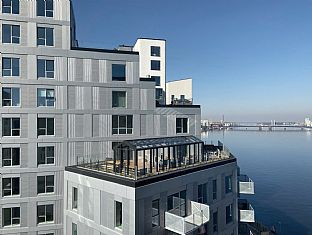 First 100 people move into scenic residential in Aalborg - C.F. Møller. Photo: A. Enggaard