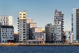 First 100 people move into scenic residential in Aalborg - C.F. Møller. Photo: Julian Weyer