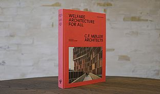 New C.F. Møller Architects book about welfare architecture - C.F. Møller. Photo: C.F. Møller Architects / Peter Sikker