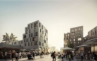 New Commons in Copenhagen - C.F. Møller. Photo: C.F. Møller