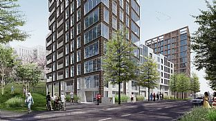 New project for Swan Housing Association - C.F. Møller. Photo: C.F. Møller Architects