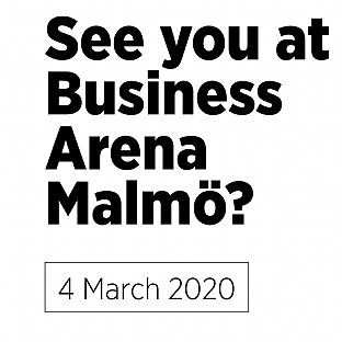 See you at Business Arena Malmö - C.F. Møller