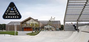 The Heart in Ikast, Denmark, wins Civic Trust Awards.  - C.F. Møller