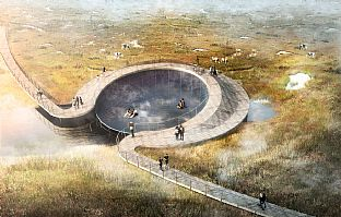 The Stork Meadow nominated as one of Denmark's best climate solutions - C.F. Møller. Photo: C.F. Møller Architects