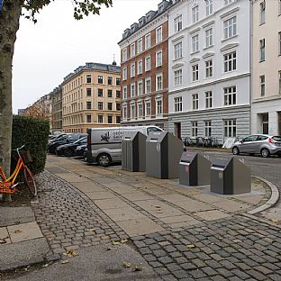 The design for new waste solutions in Copenhagen has been found - C.F. Møller. Photo: C.F. Møller Architects