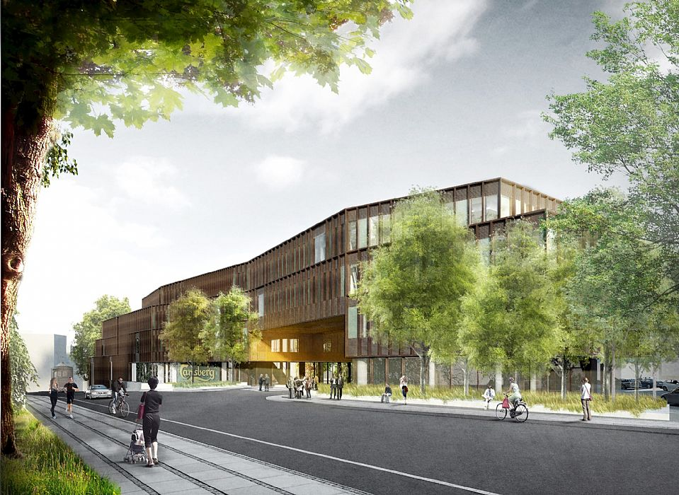 c f møller designs carlsberg group s new central office c f møller