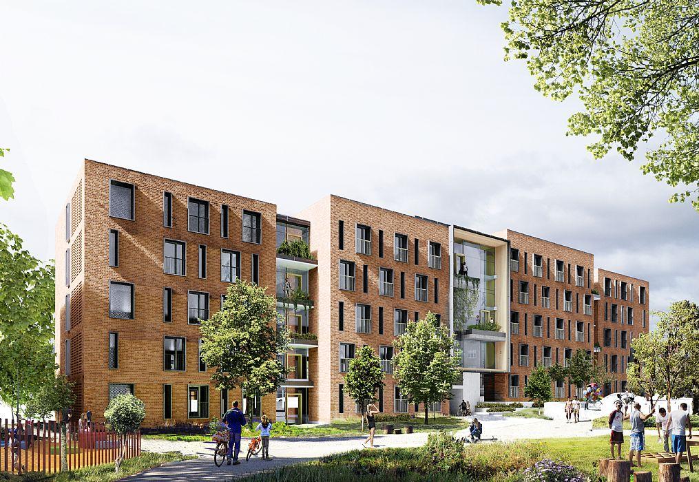 Arkitektbyrån C.F. Møller vinner tävling om nytt kollegium - C.F. Møller