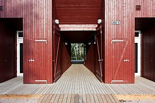 Arveset farm - Reinterpretation of historic farm buildings. C.F. Møller. Photo: Roberto Di Trani