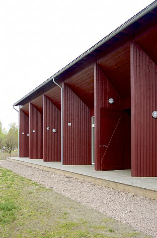 Arveset farm - Reinterpretation of historic farm buildings. C.F. Møller. Photo: Nils Petter Dale