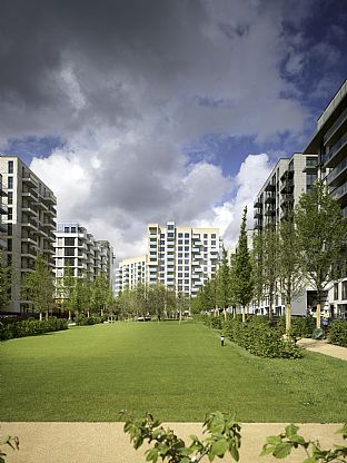 Athletes Village, plot N13 London Olympics 2012. C.F. Møller. Photo: Chris Gascoigne