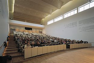 Auditoriums, University of Aarhus. C.F. Møller. Photo: Torben Eskerod