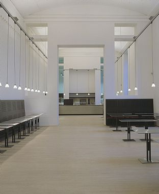 Café at the National Gallery. C.F. Møller
