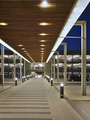 Carpark, Billund Airport. C.F. Møller. Photo: Julian Weyer