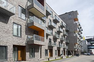 CeresByen, Ceres Corner. C.F. Møller. Photo: Julian Weyer