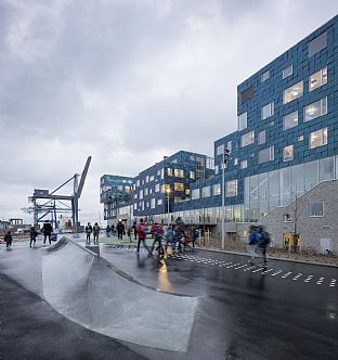 Copenhagen International School, Landskap. C.F. Møller. Photo: Adam Mørk