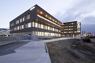 Deloitte Office Building in Esbjerg. C.F. Møller. Photo: Martin Schubert